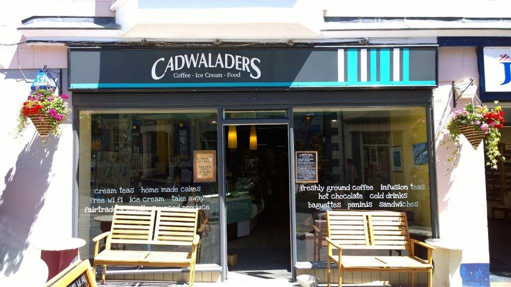 cadwaladers ice cream tenby store