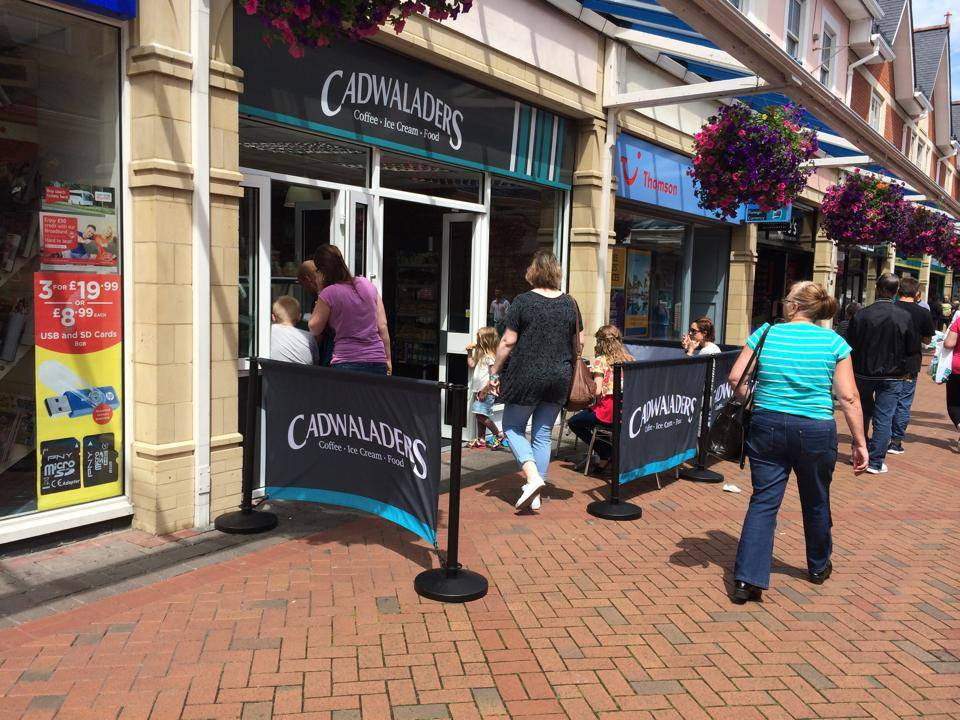 cadwaladers ice cream caerphilly store
