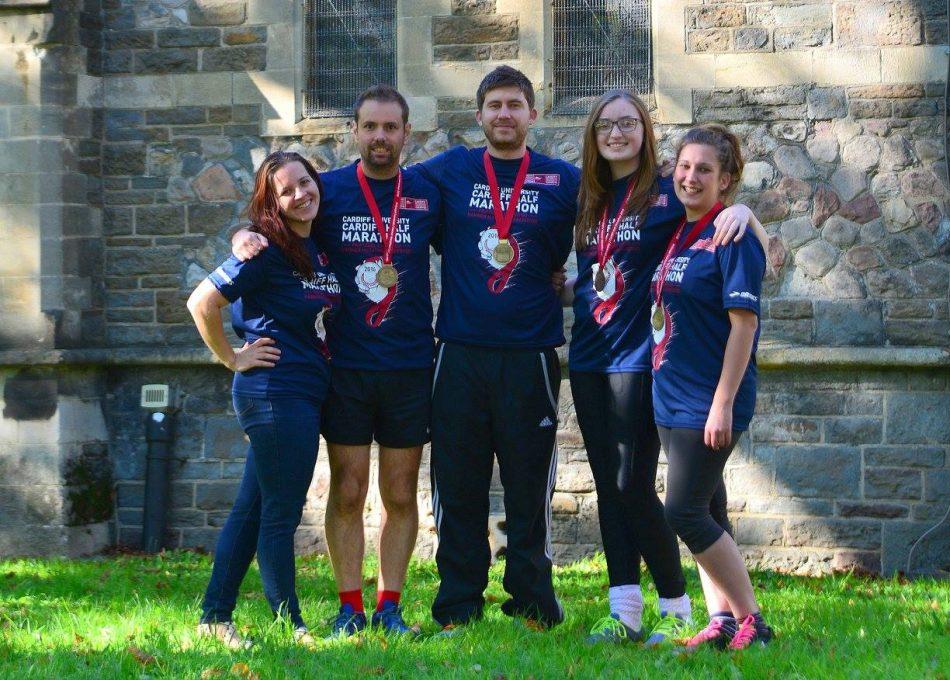 cadwaladers cardiff half marathon runners